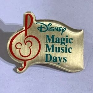 Disney Magic Music Days Lapel Pin